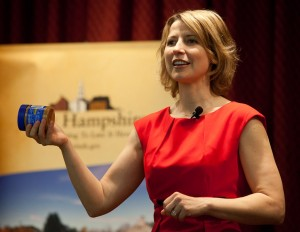 Samantha Brown at NH Travel Council 2011 Govenor's Conference
