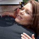 Michele Bachman - Memorial Day visiti to Dover NH - Greeting a Vetran