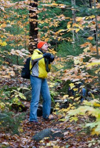 Student at the White Mountain Photography Workshop presented by photographer Dan Splaine  ©2010 Daniel J. Splaine