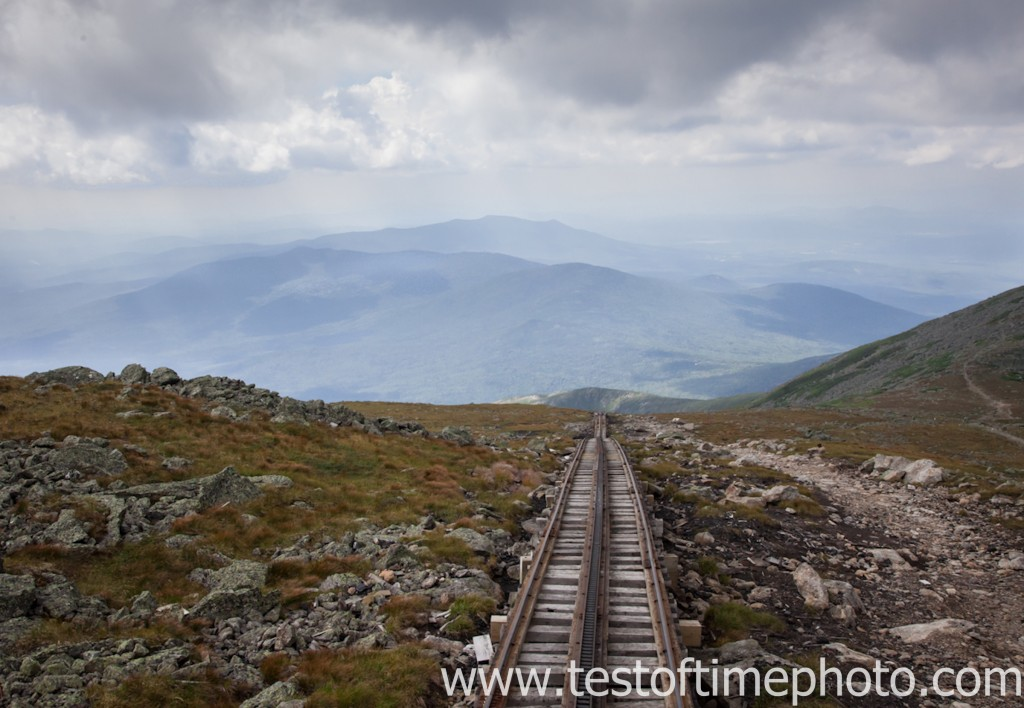 Cog Railway - Mt. Washington Observatory Photo Workshop with photographer Dan Splaine on Sept. 11, 2012 ©2012 Daniel J. Splaine
