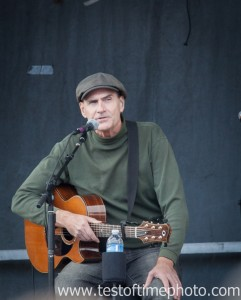 Singer- songwriter James Taylor during his performance in Nashua, NH during the Obama campaign event on Oct. 27, 2012 .  ©2012 Daniel J. Splaine - All Rights Reserved