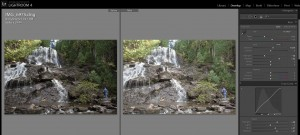 Screenshot of Adobe Lightroom develop module.  Photographer Dan Splaine will cover this tool in his RAW WORKFLOW WORKSHOP on November 1, 2012.  For more information coat him at info@testoftimephoto.com