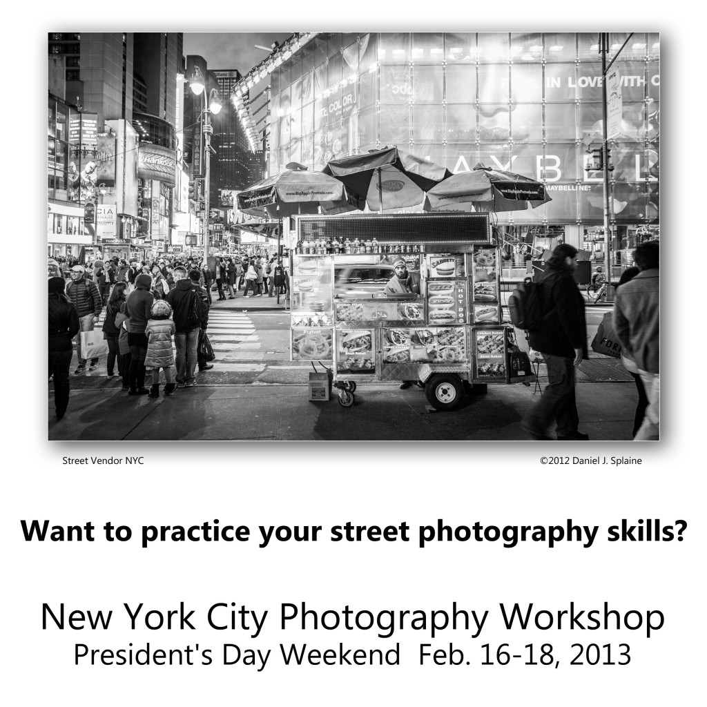 New York City Photographer Tour - President's Day weekend with Photographer Dan Splaine and NH Tours